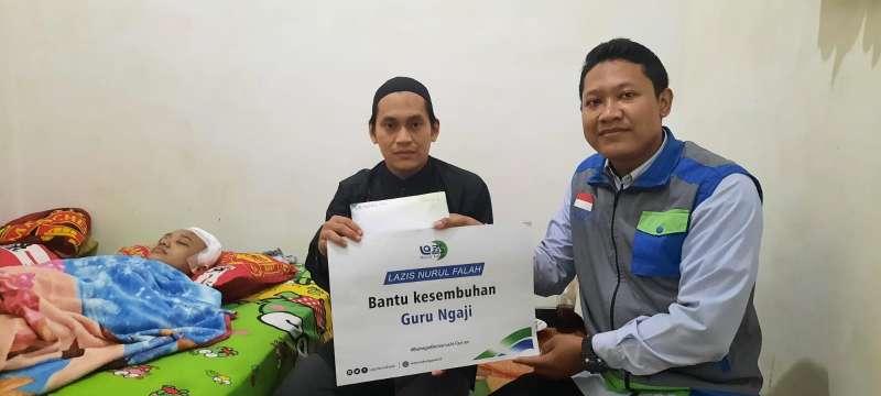 LAZIS Nurul Falah Menyerahkan Bantuan Untuk Sit Choiriyah